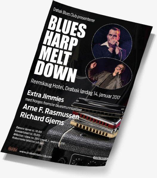 Blues Harp Meltdown poster